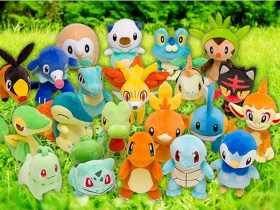 Official Starter Pokémon Plush