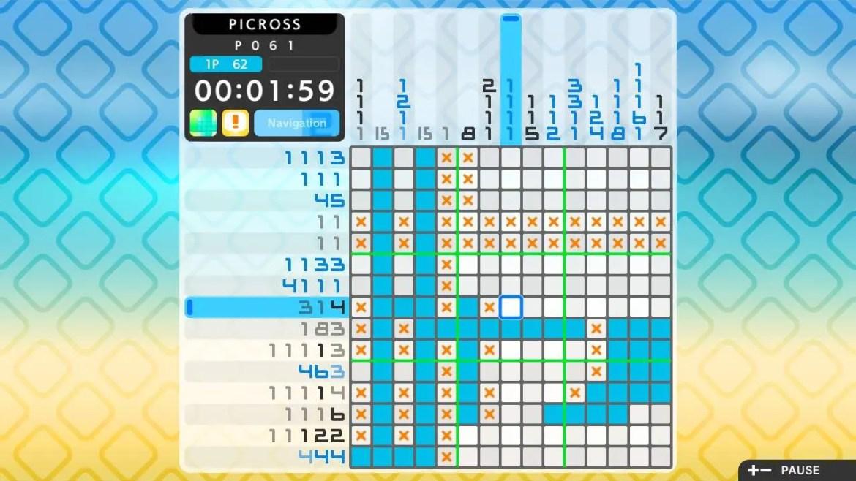 Picross S2 Review Screenshot 1