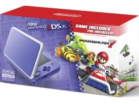 Purple + Silver New Nintendo 2DS XL