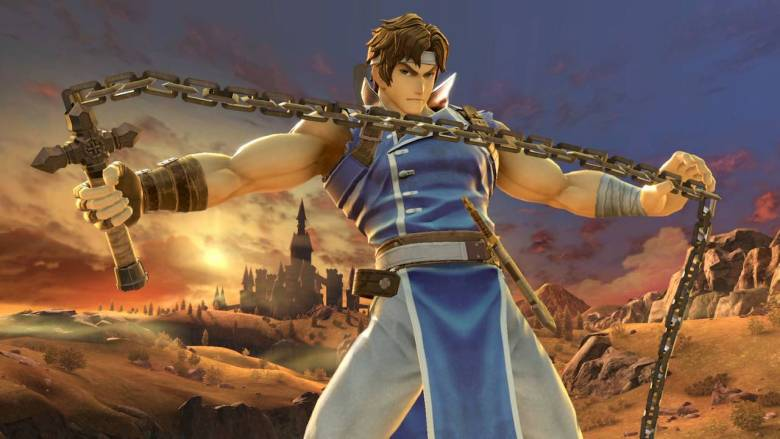 Richter Super Smash Bros. Ultimate Screenshot