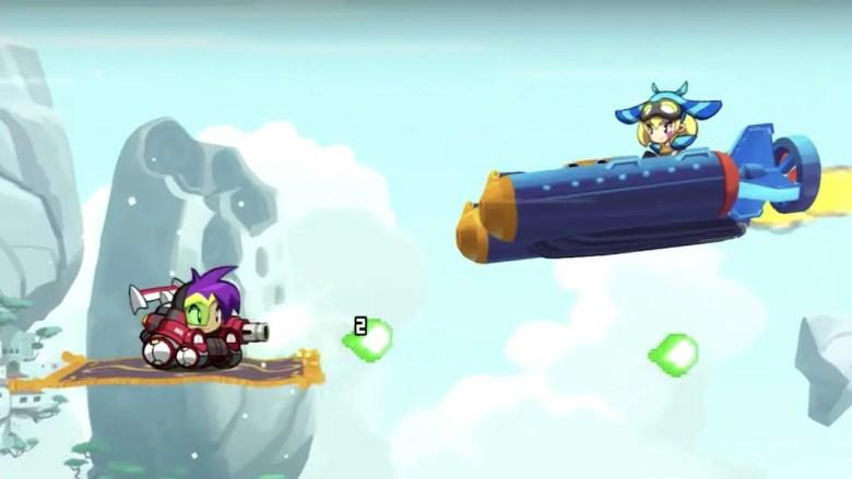 Shantae: Half-Genie Hero Blaster Master Zero Transformation Screenshot