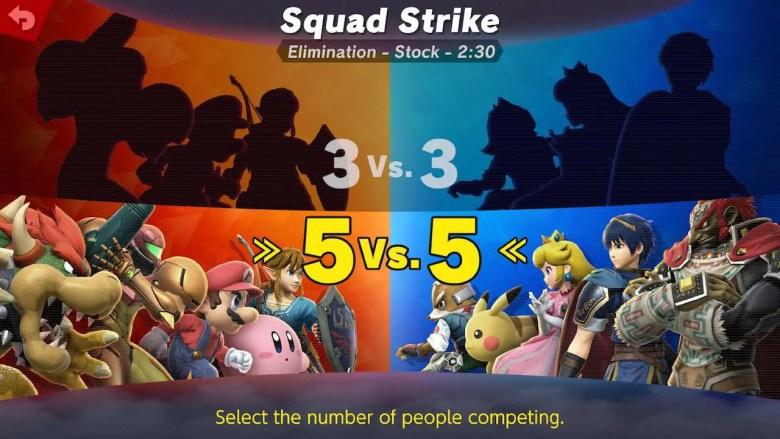 Squad Strike Super Smash Bros. Ultimate Screenshot