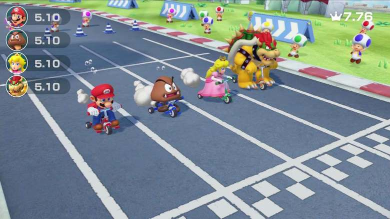 Super Mario Party Race Screenshot