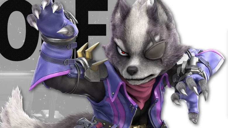 Wolf Super Smash Bros. Ultimate Artwork
