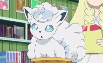 Alolan Vulpix Anime Screenshot