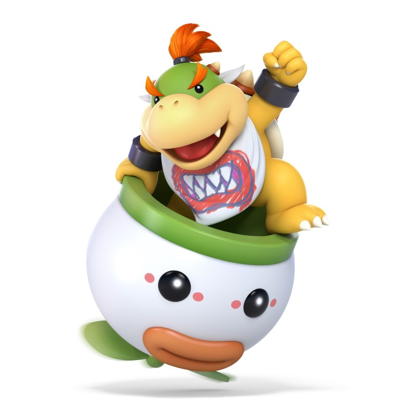 Bowser Jr. Super Smash Bros. Ultimate Character Render