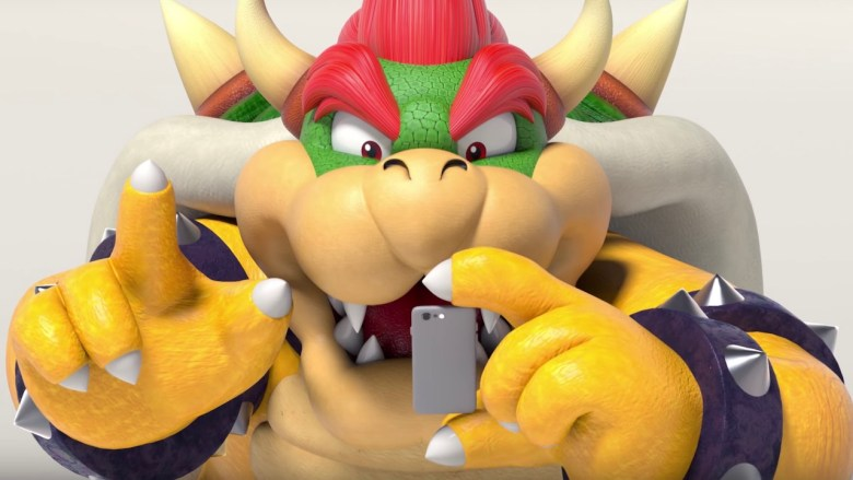 Bowser Nintendo Switch Parental Controls App