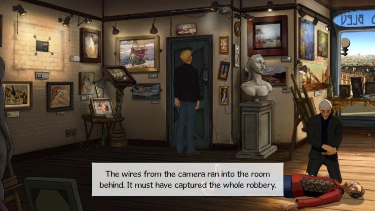 Broken Sword 5: The Serpent's Curse Review Screenshot 1