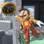 Builder Mario Super Smash Bros. Ultimate Screenshot