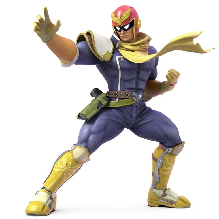 Captain Falcon Super Smash Bros. Ultimate Character Render
