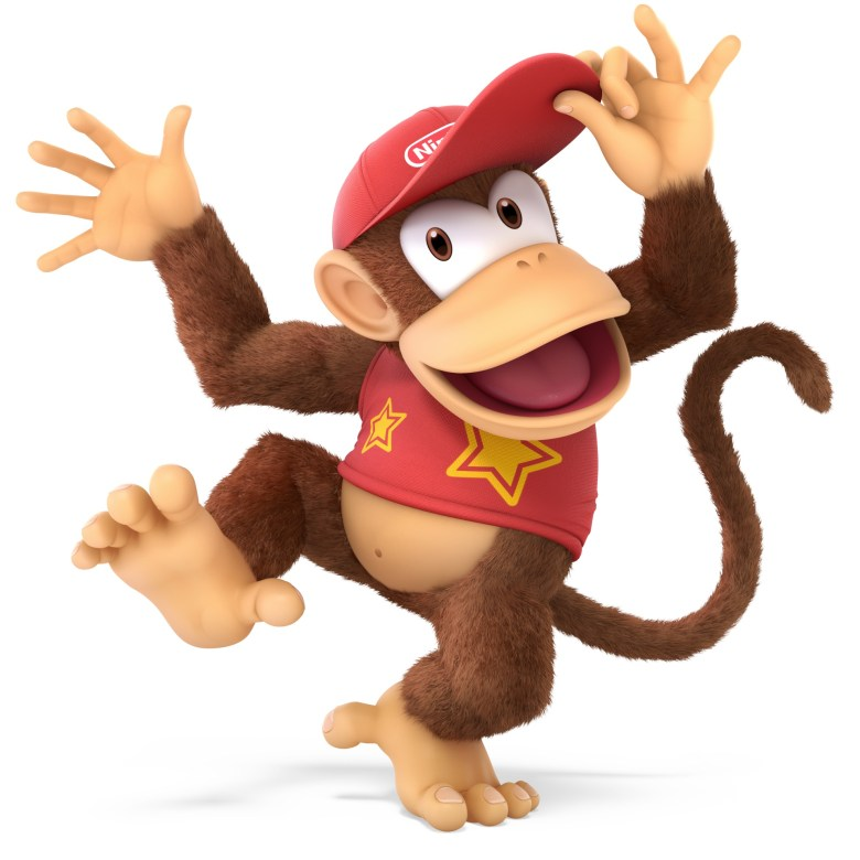 Diddy Kong Super Smash Bros. Ultimate Character Render
