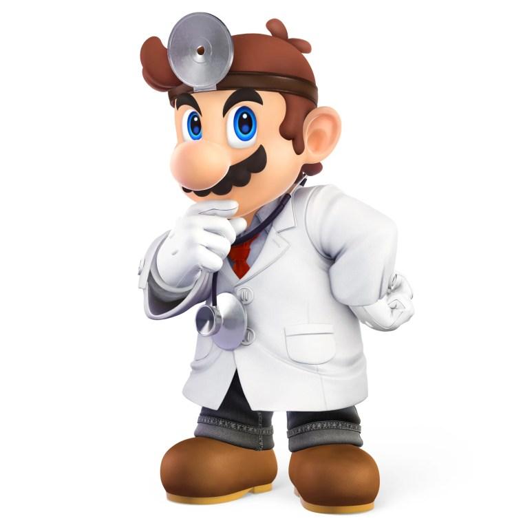 Dr Mario Super Smash Bros. Ultimate Character Render
