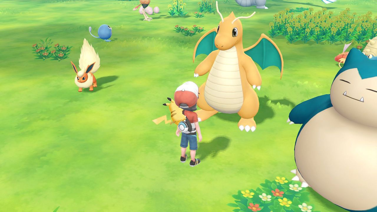 Dragonite Pokémon Let's GO, Pikachu! Screenshot