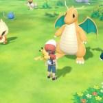 Dragonite Pokémon Let's GO, Pikachu! Screenshot