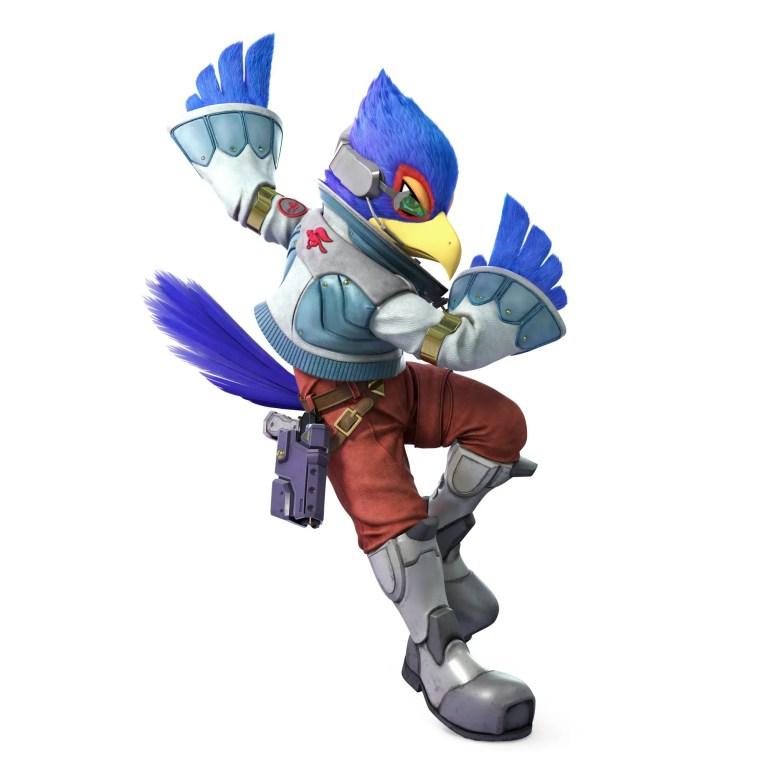 Falco Super Smash Bros. Ultimate Character Render