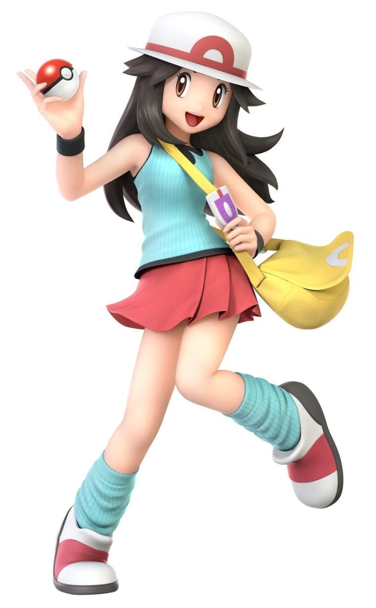 Female Pokémon Trainer Super Smash Bros. Ultimate Character Render