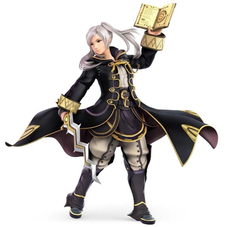Female Robin Super Smash Bros. Ultimate Character Render