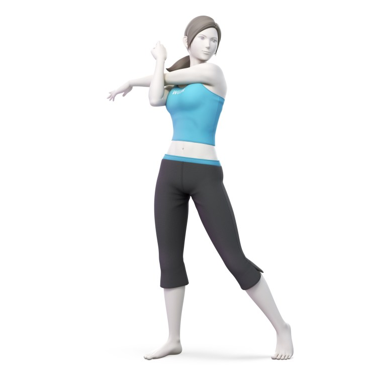 Female Wii Fit Trainer Super Smash Bros. Ultimate Character Render