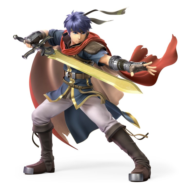 Ike Path of Radiance Super Smash Bros. Ultimate Character Render