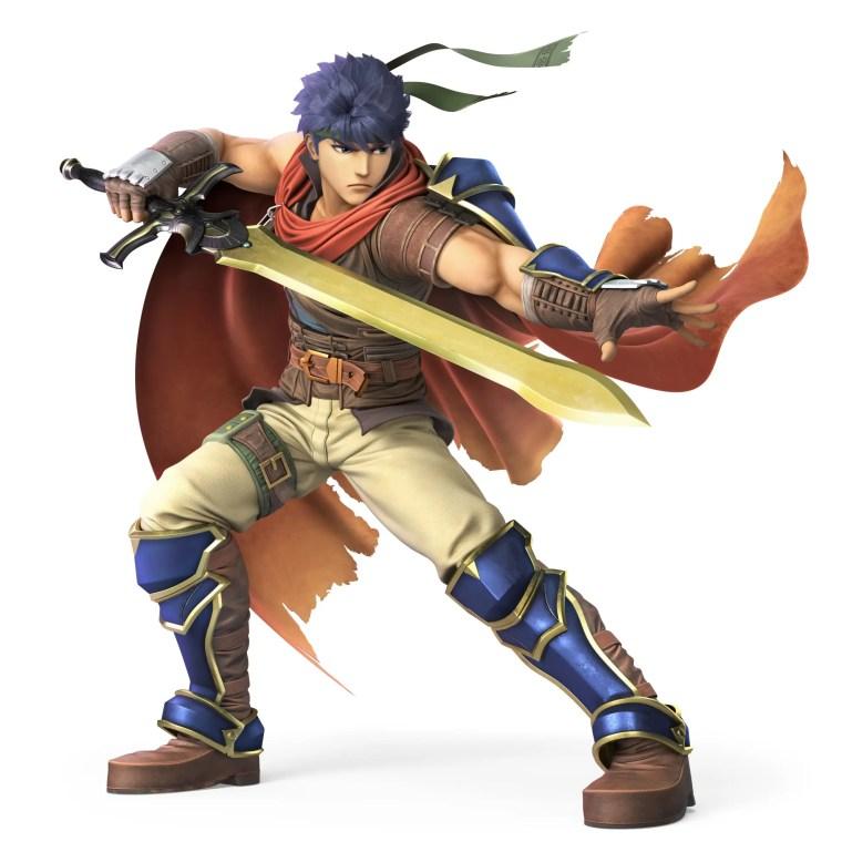 Ike Radiant Dawn Super Smash Bros. Ultimate Character Render
