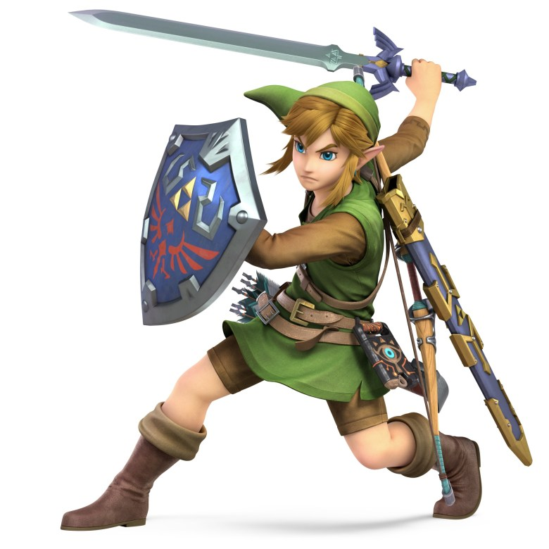 Link Armor of the Wild Super Smash Bros. Ultimate Character Render