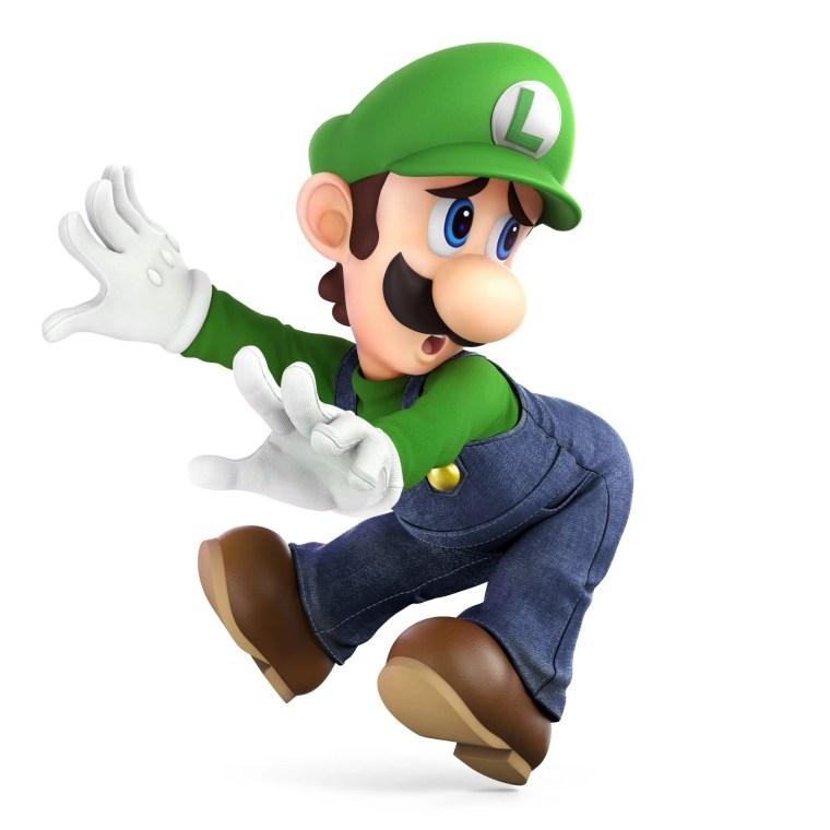 Luigi Super Smash Bros. Ultimate Character Render