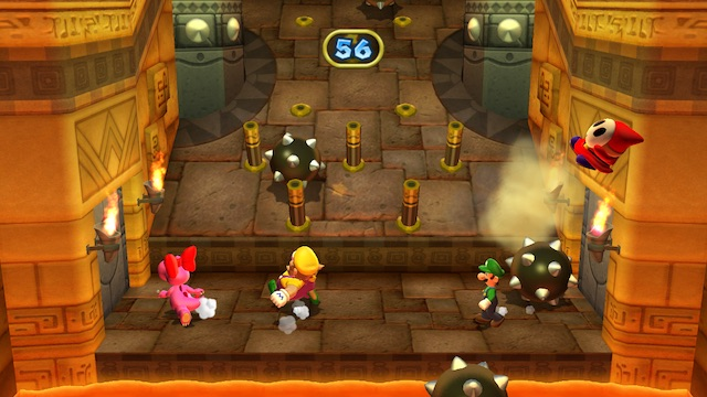 Mario Party 9 Tumble Temple Screenshot