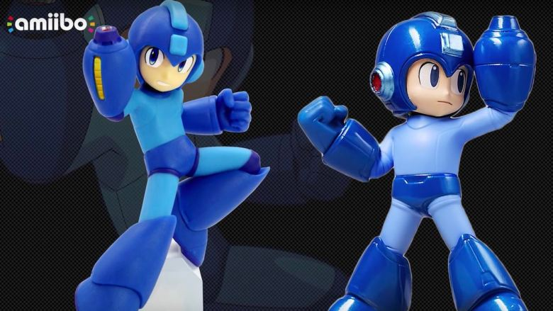 Mega Man amiibo Photo