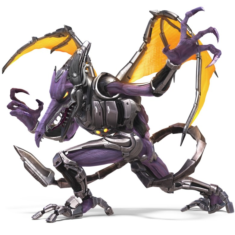 Meta Ridley Super Smash Bros. Ultimate Character Render