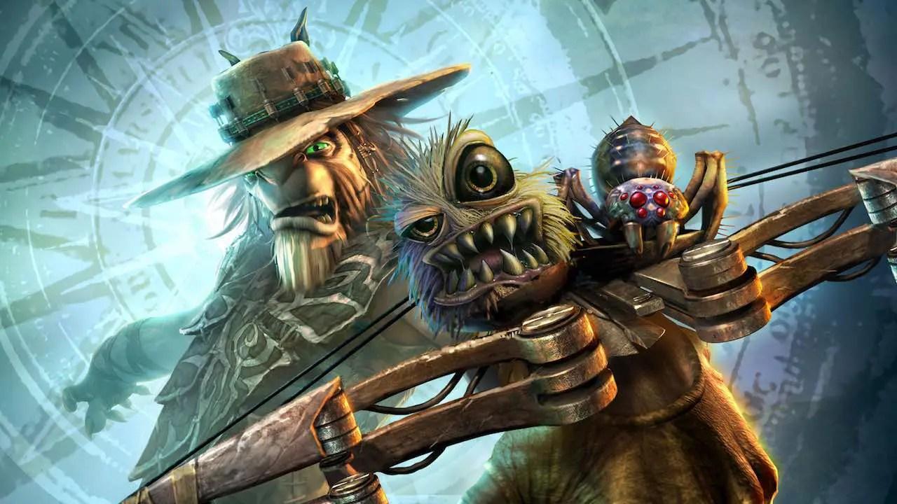 Oddworld: Stranger's Wrath Artwork