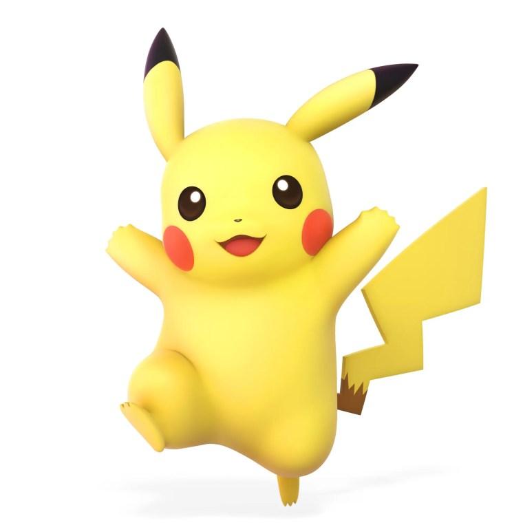 Pikachu Super Smash Bros. Ultimate Character Render