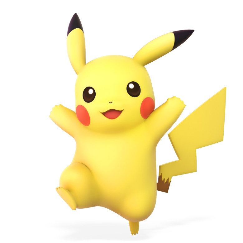 Pikachu Super Smash Bros. Ultimate Character Render