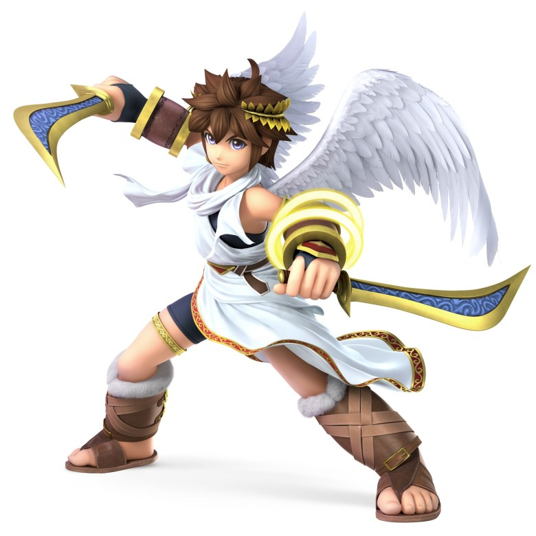 Pit Super Smash Bros. Ultimate Character Render