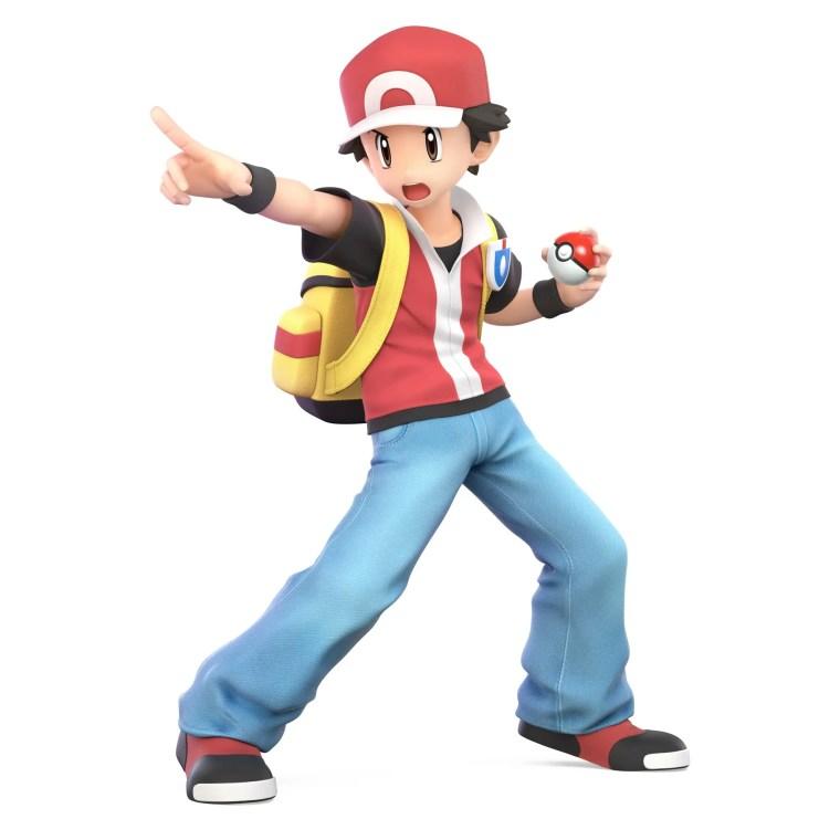 Pokémon Trainer Super Smash Bros. Ultimate Character Render