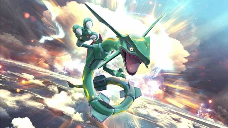 Rayquaza Artwork
