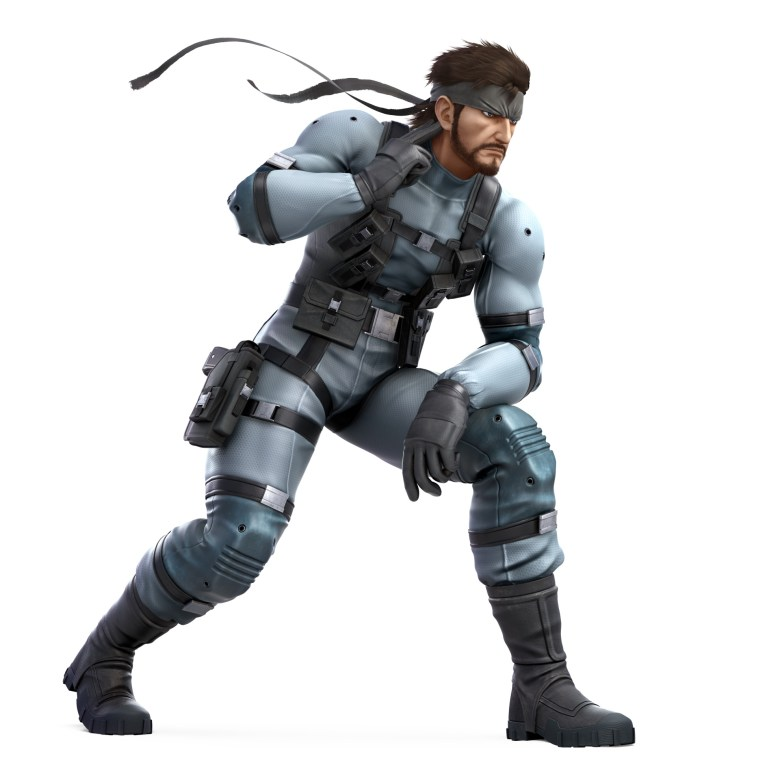 Snake Super Smash Bros. Ultimate Character Render
