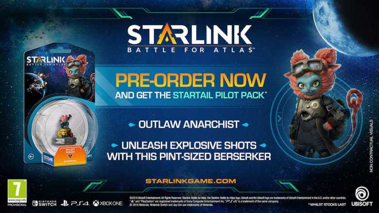 Starlink: Battle for Atlas Startail Pilot Pack