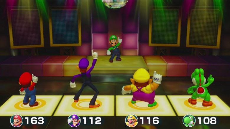 Super Mario Party Sound Stage Screenshot