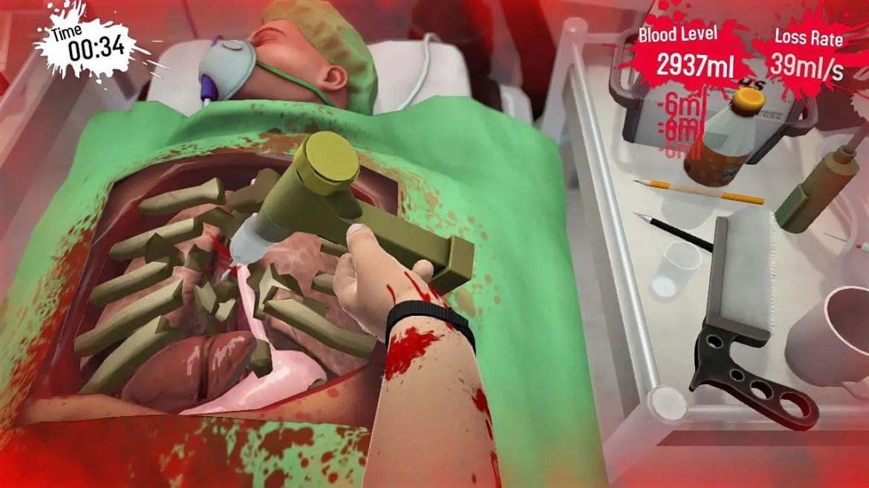 Surgeon Simulator CPR Review Screenshot 1