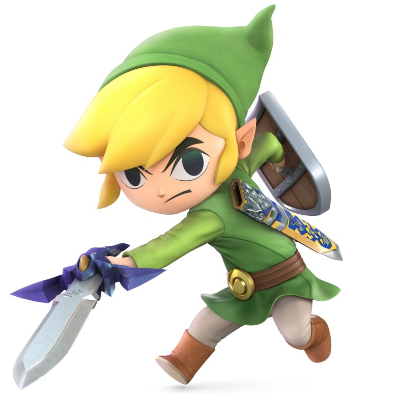 Toon Link Super Smash Bros. Ultimate Character Render