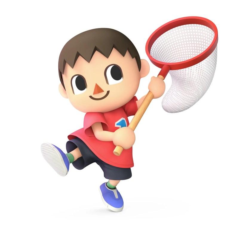 Villager Super Smash Bros. Ultimate Character Render
