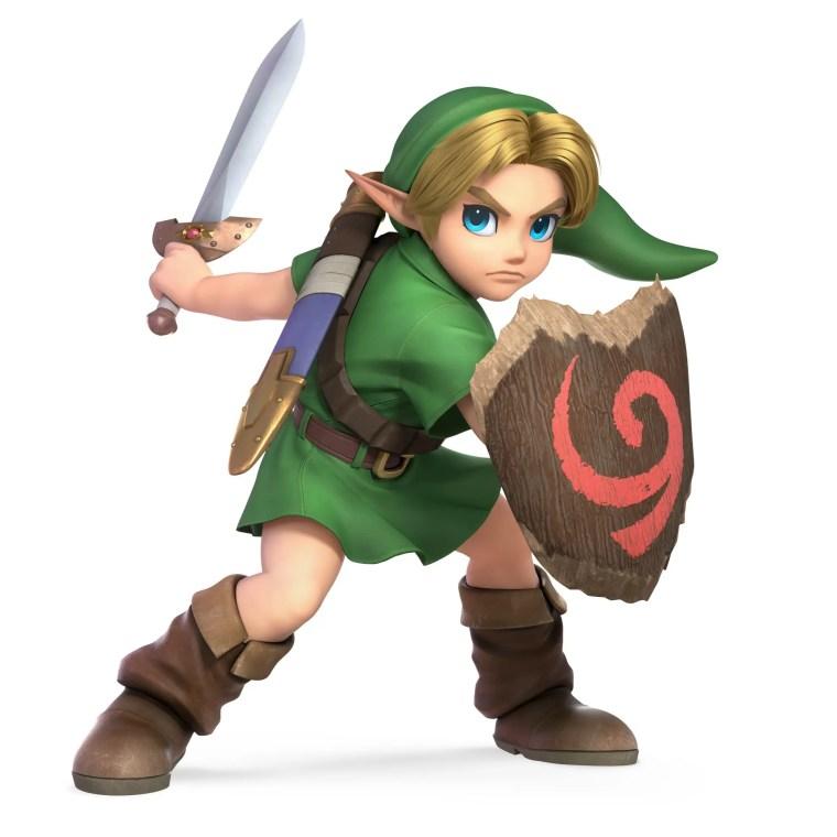 Young Link Super Smash Bros. Ultimate Character Render