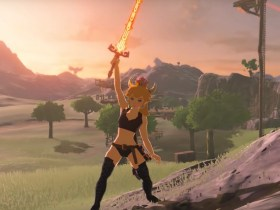 Bowsette The Legend of Zelda: Breath of the Wild Screenshot
