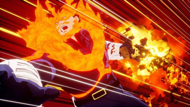 Endeavor My Hero One's Justice Screenshot