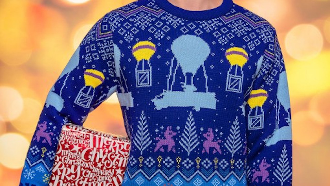 Fortnite Christmas.Official Fortnite Christmas Sweaters Spread Some Holiday