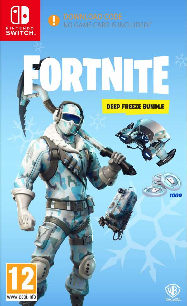 Fortnite: Deep Freeze Bundle Switch Box Art