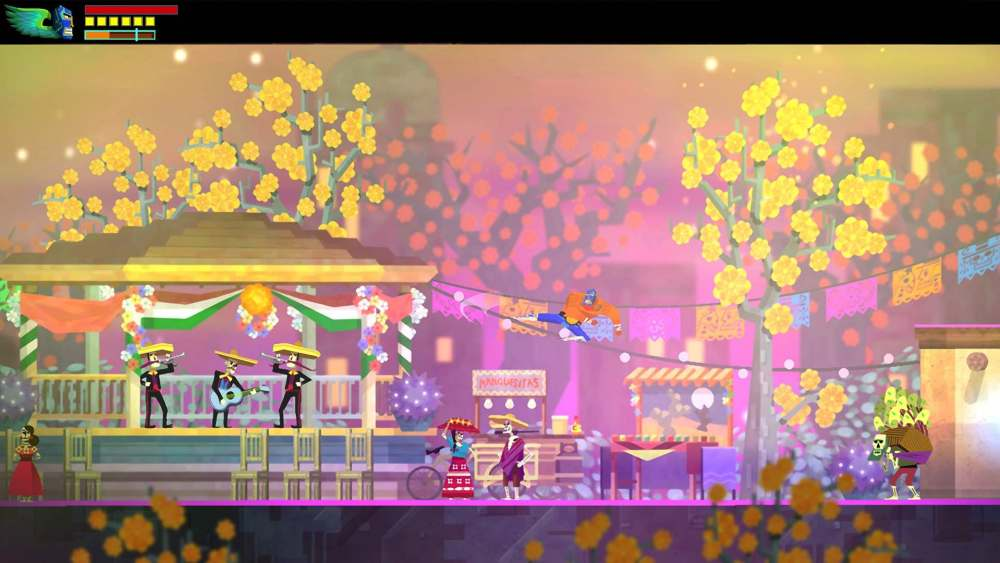 Guacamelee! Super Turbo Championship Edition Review Screenshot 1