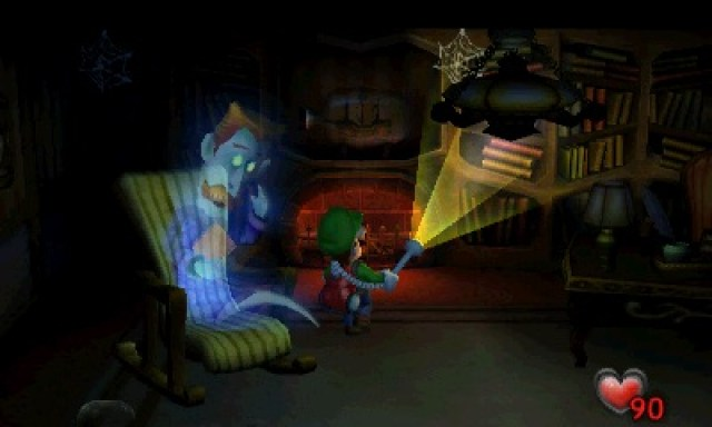 Luigi's Mansion Review Screenshot 2