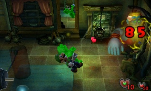 Luigi's Mansion Review Screenshot 3