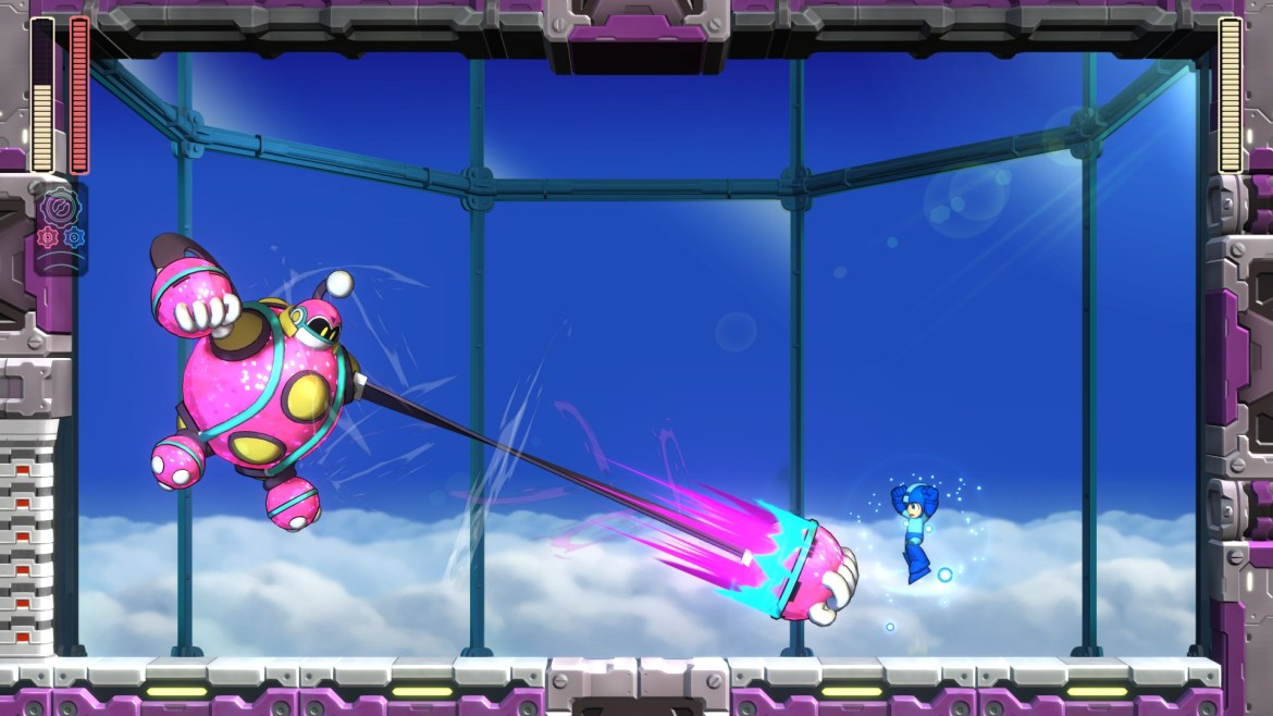 Mega Man 11 Bounce Man Screenshot